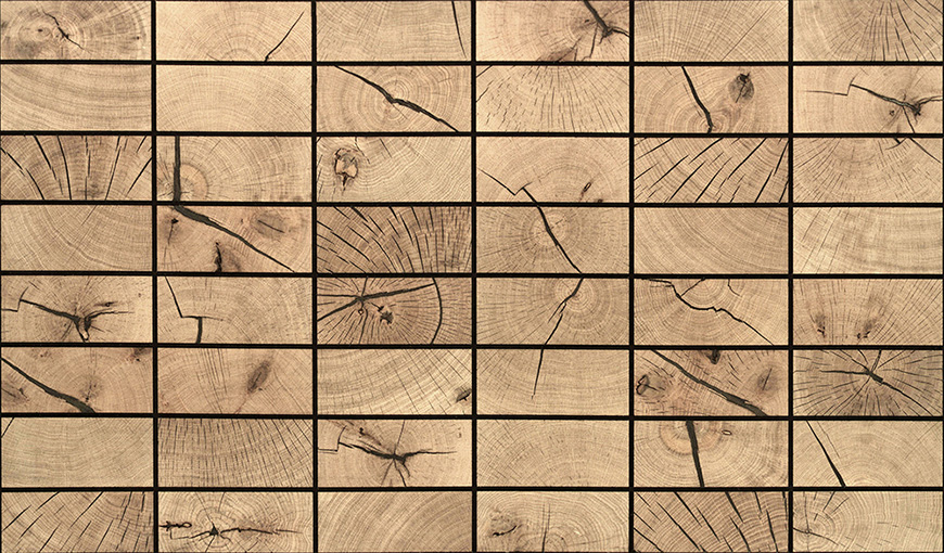 Wood with end grain!